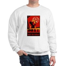 Obey the Vizsla! Sweatshirt