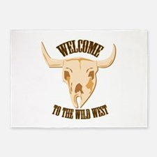 Welcome West 5'x7'Area Rug