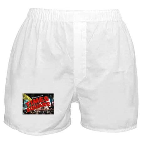 Greetings from New York City Boxer Shorts