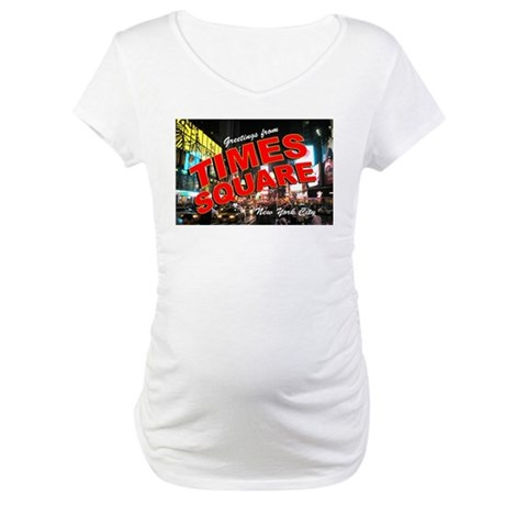 Greetings from New York City Maternity T-Shirt