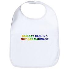 BAN GAY BASHING Bib