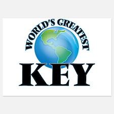 World's Greatest Key Invitations