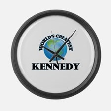 World's Greatest Kennedy Large Wall Clock