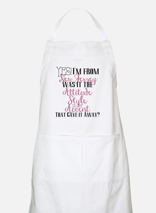 New Jersey Girl (Pink) Apron
