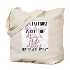 New Jersey Girl (Pink) Tote Bag