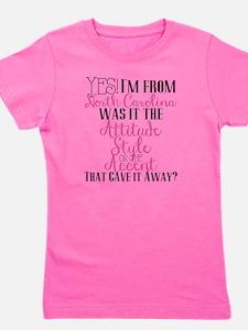 North Carolina Girl (Pink) Girl's Tee