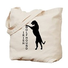 Tall Irish Wolfhound Tote Bag