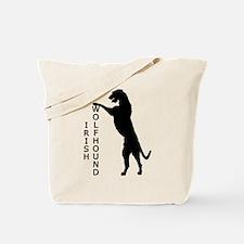 Tall Irish Wolfhound Tote Bag