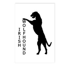 Tall Irish Wolfhound Postcards (Package of 8)