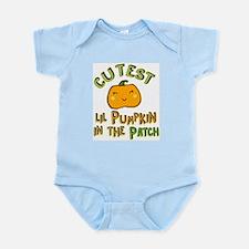 Cutest Little Pumpkin in the Patch Body Suit