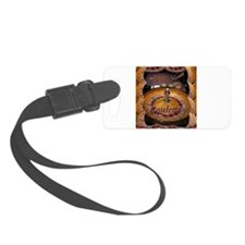 casino roulette table montage Luggage Tag
