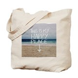 Beach Canvas Tote Bag