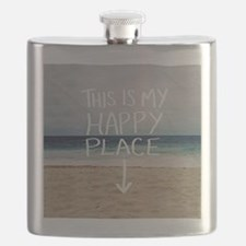 This Is My Happy Place Flask