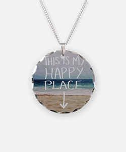 This Is My Happy Place Necklace