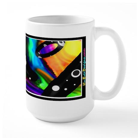Psychedelic Fusion I - Large Mug