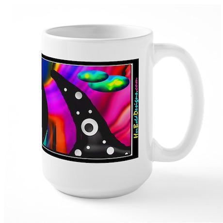 Psychedelic Fusion II - Large Mug