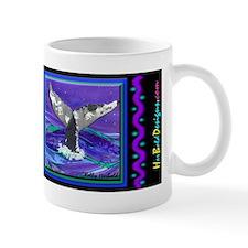 Whale Tail Small Mug