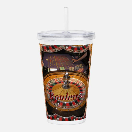casino roulette table Acrylic Double-wall Tumbler