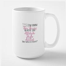 New Jersey Girl (Pink) Mugs