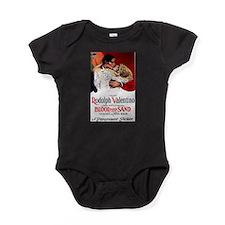 rudolph valentino Baby Bodysuit