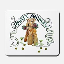 Airedale Terrier Party Mousepad