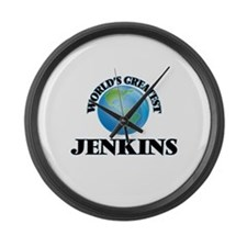 World's Greatest Jenkins Large Wall Clock
