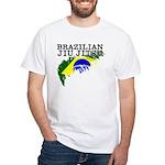 Brazilian Ju Jitsu (BJJ) t-shirt - Flag of Brazil