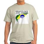 Brazilian flag BJJ light teeshirt