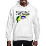 Brazilian flag BJJ Hooded Sweatshirt