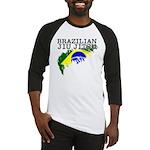 Brazilian flag BJJ baseball shirt