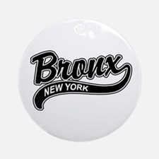 Bronx New York Ornament (Round)