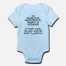 Best qualities about parents Infant Bodysuit