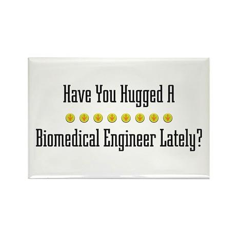 Hugged Biomedical Engineer Rectangle Magnet