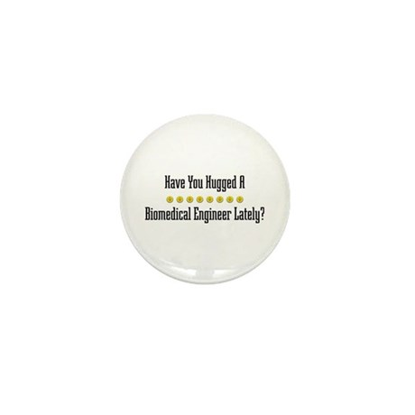 Hugged Biomedical Engineer Mini Button (10 pack)