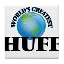 World's Greatest Huff Tile Coaster
