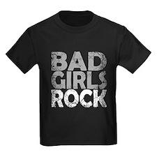 BAD GIRLS ROCK WHITE T-Shirt