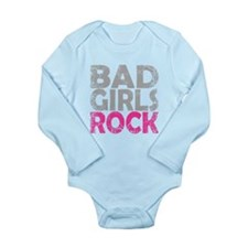 BAD GIRLS ROCK PINK Body Suit