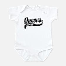 Queens New York Infant Bodysuit