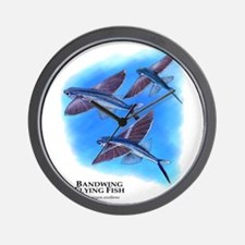 Bandwing Flying Fish Wall Clock