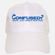 Confused? Nope, Just Mixed He Baseball Baseball Cap