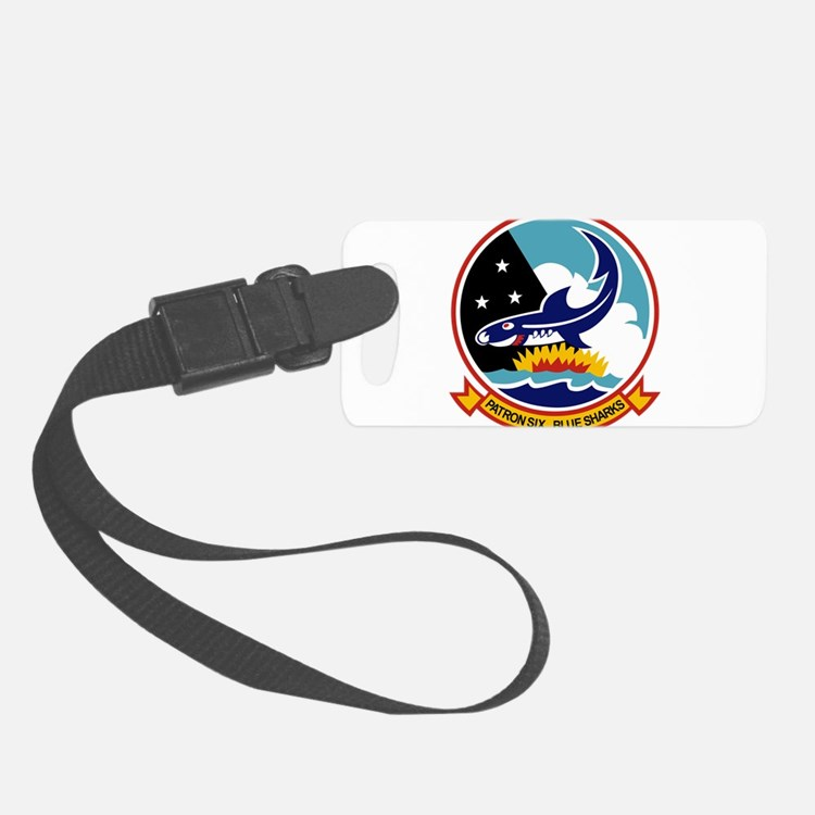 vp6_blue_sharks.png Luggage Tag