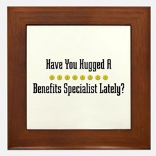Hugged Benefits Specialist Framed Tile