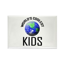 World's Coolest KIDS Rectangle Magnet
