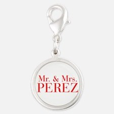 Mr Mrs PEREZ-bod red Charms