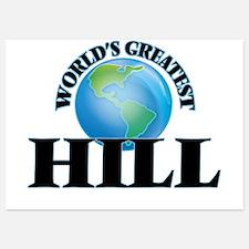 World's Greatest Hill Invitations