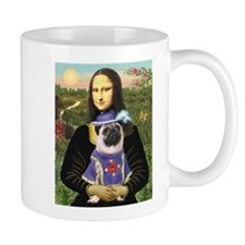 Mona Lisa & Sir Pug Mug