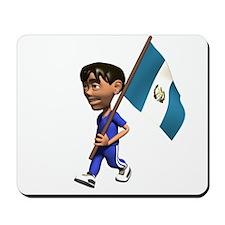 Guatemala Boy Mousepad