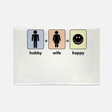 Hubby plus Wife equals Happy Magnets