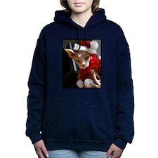 xmas_cat.jpg Women's Hooded Sweatshirt