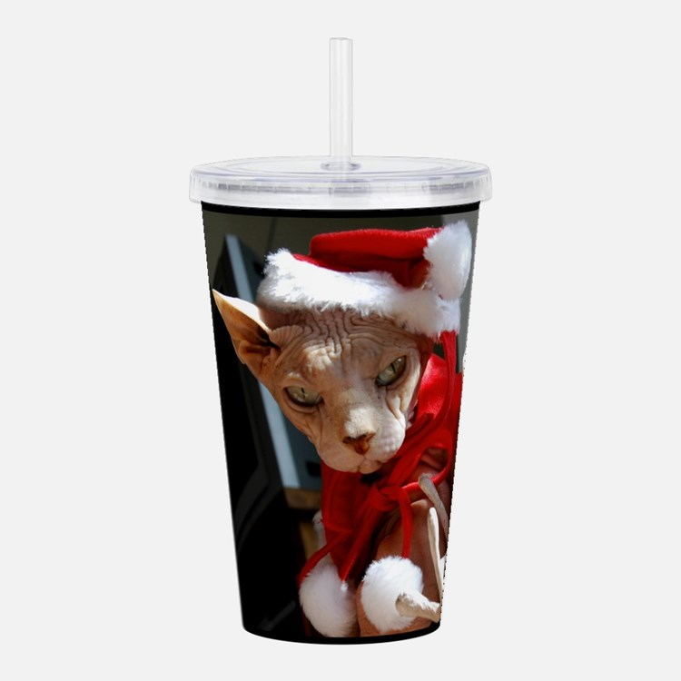 xmas_cat.jpg Acrylic Double-wall Tumbler